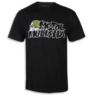 Moška ulična majica - IKON BLK - METAL MULISHA, METAL MULISHA