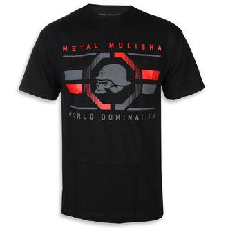 Moška ulična majica - OCTAGON BLK - METAL MULISHA, METAL MULISHA