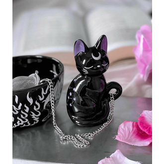 Cedilo za čaj KILLSTAR - Kitty - ČRNA, KILLSTAR