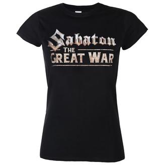 Ženska metal majica Sabaton - The great war - NUCLEAR BLAST, NUCLEAR BLAST, Sabaton