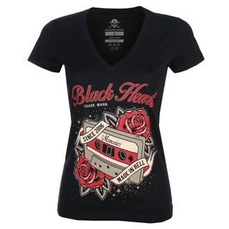 Ženska ulična majica - OLD SCHOOL V - BLACK HEART, BLACK HEART