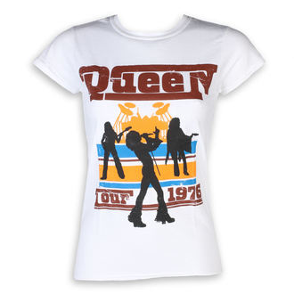 Ženska metal majica Queen - 76 Tour - ROCK OFF, ROCK OFF, Queen