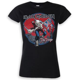 Ženska metal majica Iron Maiden - Trooper Red Sky - ROCK OFF, ROCK OFF, Iron Maiden