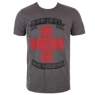 Metal majica moški Bon Jovi - BAD MEDICINE - PLASTIC HEAD, PLASTIC HEAD, Bon Jovi