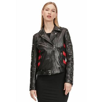 Ženska (motoristična) jakna 2 G2WTaly - SF LAROXV - Črna / rdeča - M0013679