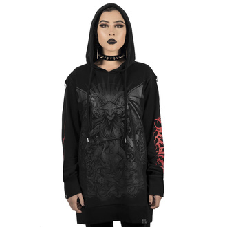 Ženski hoodie KILLSTAR - Satan Is A Woman Hoodie, KILLSTAR