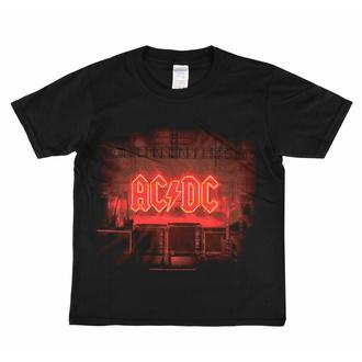 Otroška Majica AC/ DC - PWR Stage - LOW FREQUENCY, LOW FREQUENCY, AC-DC