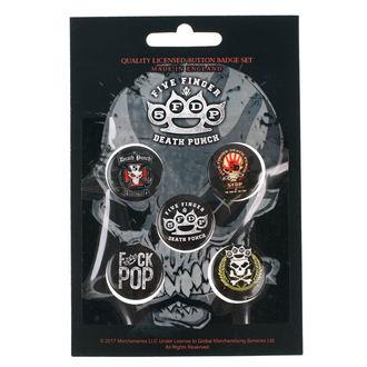 Pin Značke Five Finger Death Punch - RAZAMATAZ, RAZAMATAZ, Five Finger Death Punch