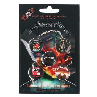 Pin Značke Metallica - RAZAMATAZ - BB016