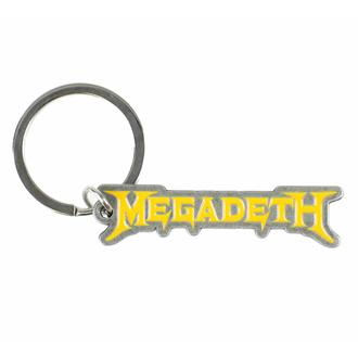 Obesek za ključe obesek MEGADETH - LOGO - RAZAMATAZ, RAZAMATAZ, Megadeth
