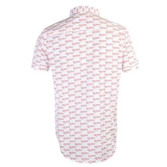 Moška srajca Queen - Logo - WHT - ROCK OFF, ROCK OFF, Queen