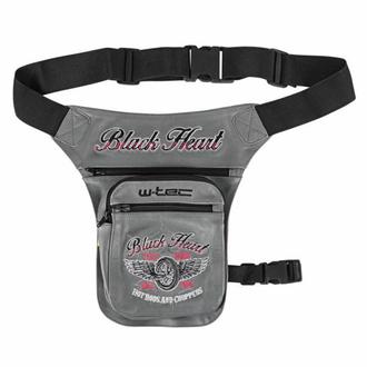 Torbica (bum torbica/ bočna torbica) BLACK HEART - WINGS, BLACK HEART