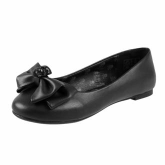 Ženski čevlji (balerinke) KILLSTAR - Bow Down Ballet Flats - Črna, KILLSTAR
