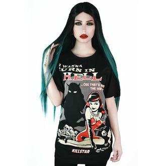 Moška majica KILLSTAR - She Devil - Črna, KILLSTAR