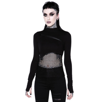 Ženska majica z dolgimi rokavi (top) KILLSTAR - SIndi Fishnet Top, KILLSTAR