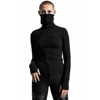 Ženska majica z dolgimi rokavi KILLSTAR - Sit & Spin Turtleneck - Črna, KILLSTAR