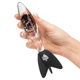 dildo MOTORHEAD - BOMBER GLASS CLEAR - PLASTIC HEAD, PLASTIC HEAD, Motörhead
