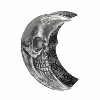 Dekoracija (škatlica) ALCHEMY GOTHIC - Skull Moon - Srebro, ALCHEMY GOTHIC