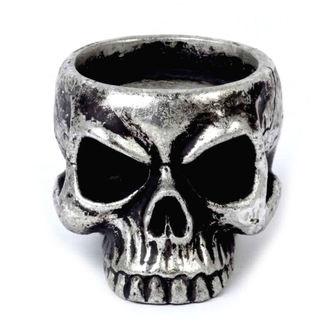 Dekorativno stojalo za svečo ALCHEMY GOTHIC - Skull Tea, ALCHEMY GOTHIC