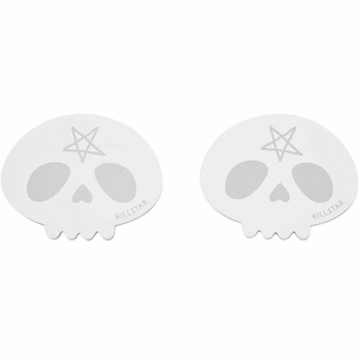Samolepilne blazinica KILLSTAR - Skully - Črna, KILLSTAR