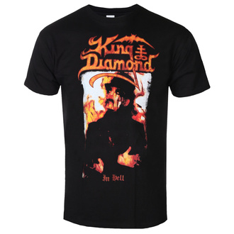 Moška metal majica King Diamond - IN HELL - PLASTIC HEAD, PLASTIC HEAD, King Diamond