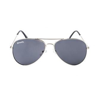 Sončna očala MEATFLY - SCOTT - A - 4/17/55 - Srebrna - Črna, MEATFLY