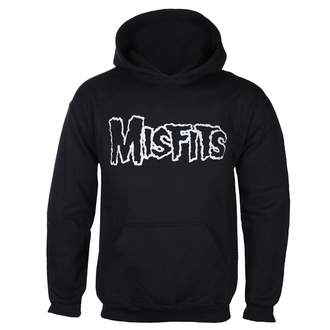 Moški hoodie MISFITS - LOGO +SKULL OVERHEAD - ČRNA - GOT TO HAVE IT, GOT TO HAVE IT, Misfits