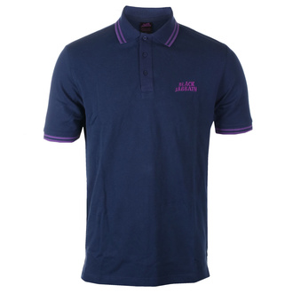 Moška majica Black Sabbath - Wavy Logo - NAVY Polo, ROCK OFF, Black Sabbath