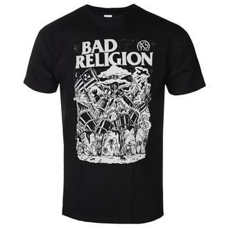 Moška majica Bad Religion - Wasteland - Črna, KINGS ROAD, Bad Religion