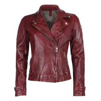 Ženska (bajkerska) jakna GGSami LACAV - OX RED - M0013109
