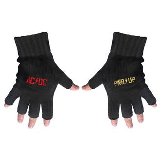Brezprstne rokavice AC / DC - POWER UP - Logo - RAZAMATAZ, RAZAMATAZ, AC-DC