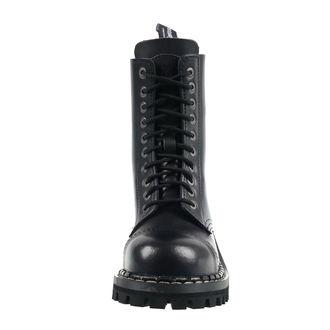 Škornji STEADY´S - 10 vezalnih lukenj - Črno, STEADY´S