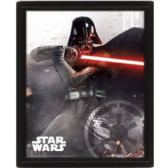 3D slika - STAR WARS - VADER VS SKYWALKER - PYRAMID POSTERS, PYRAMID POSTERS, Star Wars
