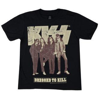 Moška metal majicai Kiss - Dressed to Kill - LOW FREQUENCY, LOW FREQUENCY, Kiss