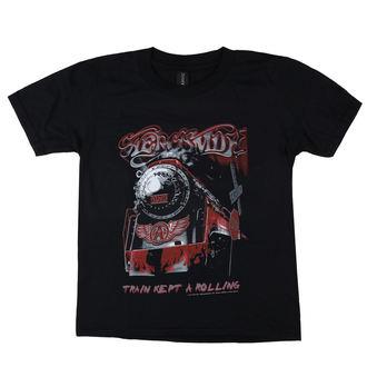 Otroška metal majica Aerosmith - Train kept a going - LOW FREQUENCY, LOW FREQUENCY, Aerosmith