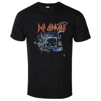 Moška metal majica Def Leppard - On through the night - LOW FREQUENCY, LOW FREQUENCY, Def Leppard