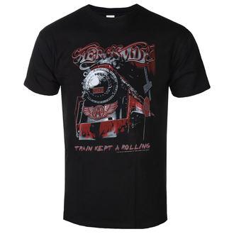 Moška metal majica Aerosmith - Train kept a going - LOW FREQUENCY, LOW FREQUENCY, Aerosmith