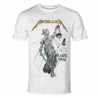 Moška majica Metallica - Justice Album - Bela, NNM, Metallica