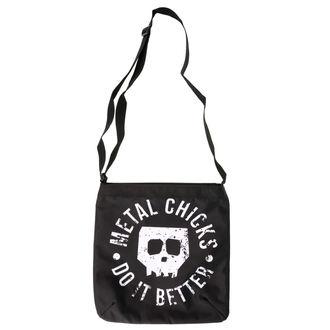 Torba (ročna torba) METAL CHICKS DO IT BETTER, METAL CHICKS DO IT BETTER