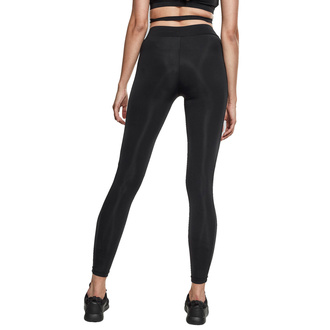 Ženske hlače (pajkice) URBAN CLASSICS - Tech Mesh Biker Leggings - črna, URBAN CLASSICS