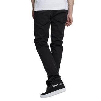 Moške hlače URBAN CLASSICS - Basic Stretch Twill 5 Pocket - črna, URBAN CLASSICS
