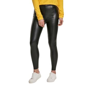 Ženske hlače URBAN CLASSICS - Faux Leather Skinny - črna, URBAN CLASSICS