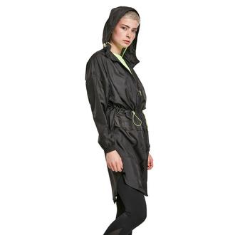ženska jakna URBAN CLASSICS - Transparent Light Parka - črna / električna, URBAN CLASSICS