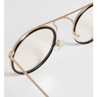 Sončna očala URBAN CLASSICS - Palermo - brezbarvna / zlata - TB3588, URBAN CLASSICS