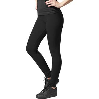 Ženske hlače (pajkice) URBAN CLASSICS - Jersey Leggings - črna, URBAN CLASSICS