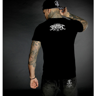 Moška majica HYRAW - Graphic - noir LOGO BLANC, HYRAW