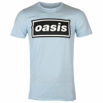 Moška majica Oasis - Decca Logo Sky Blue, NNM, Oasis