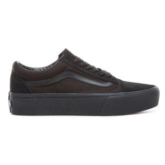 čevlji VANS - UA OLD SKOOL PLATFOR - Black/Black, VANS