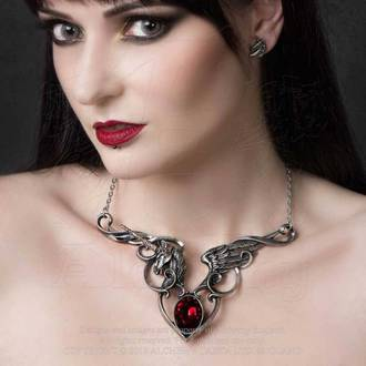 Ogrlica z obeskom ALCHEMY GOTHIC - The Maidens Conquest, ALCHEMY GOTHIC
