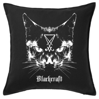 vzglavnik BLACK CRAFT - Lucifer The Cat Throw, BLACK CRAFT